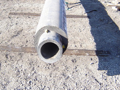 Insulated pipe