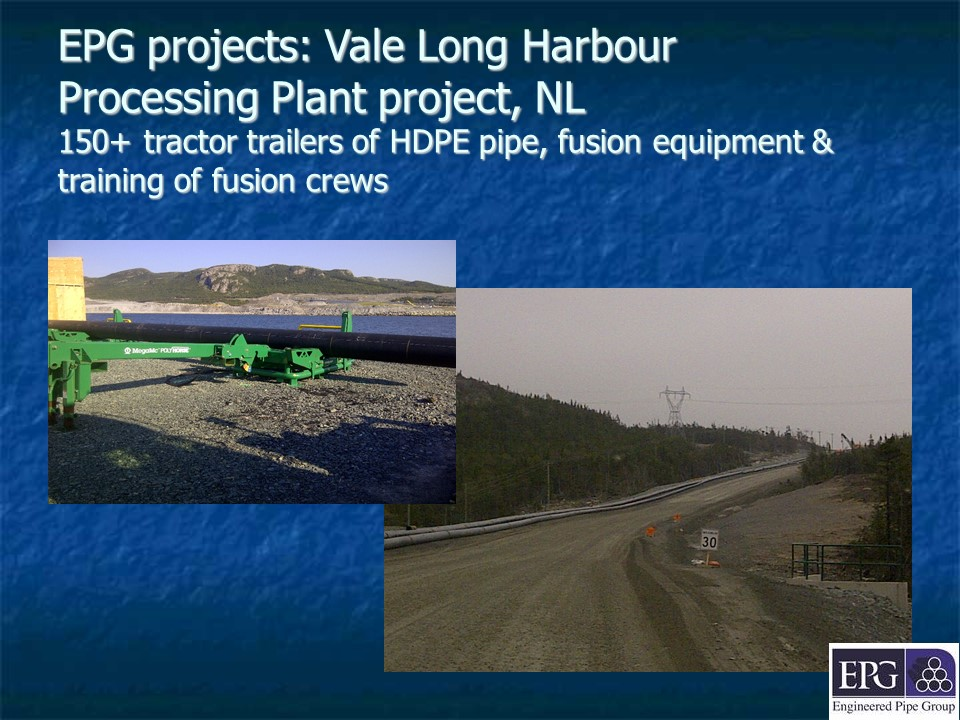 EPG project - Vale Long Harbour