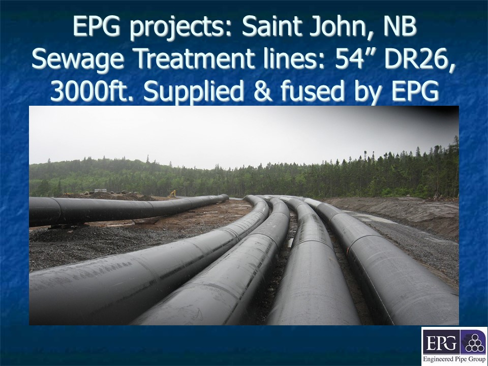 EPG projects: Saint John