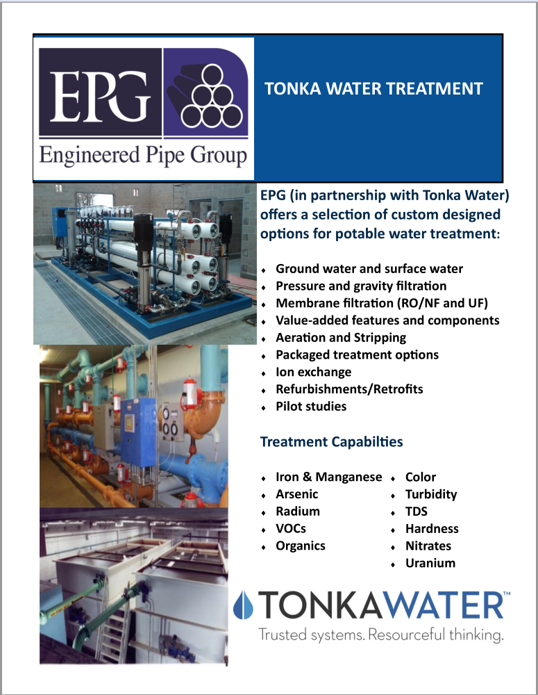 Tonka Water Treatment Summary